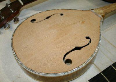 Unicorn Mandolin No. 169 Repair