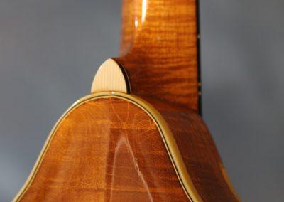 Unicorn Mandolin No. 111 Back Detail