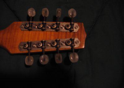 Unicorn Mandolin No. 67 headstock