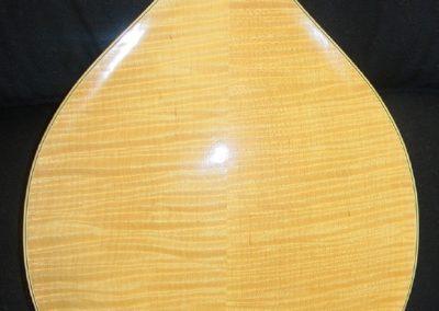 Unicorn Mandolin No. 105 Back Detail