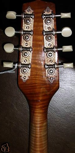 Unicorn Mandolin No. 106 Headstock