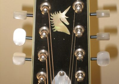 Unicorn Mandolin No. 147 Peghead